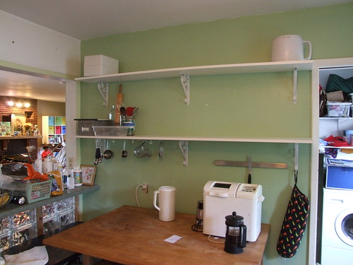 new kitchen shelves