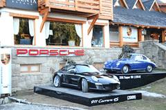 Porsche Night en el Cerro Catedral