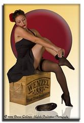 Courtney: Red Dot 4208 (Keyhole Productions Photography) Tags: portrait sexy stockings girl canon model pretty highheels legs pinup homestudio phoenixaz ef28105mmf3545usm 40d lightingessentials azstrobist keyholeproductionsphotography courtneyalaineconant modelmayhem1205462