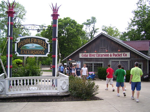 Cedar Point - Paddlewheel Excursions Station
