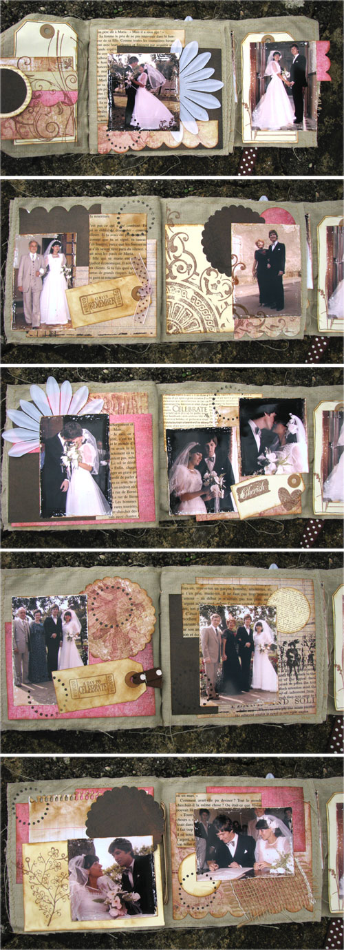 Wedding minibook (inside)