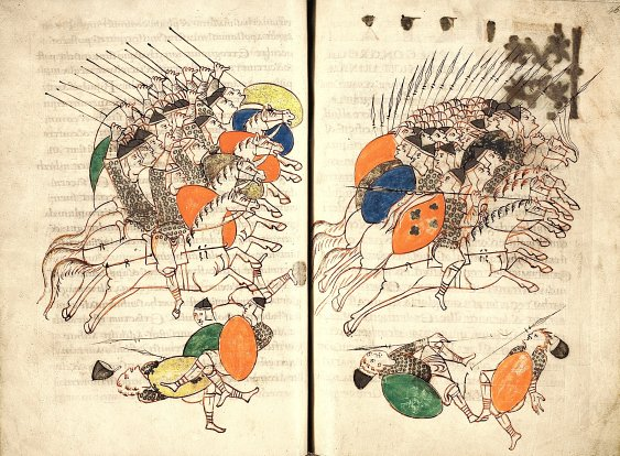 Battle Scene, from Book of Maccabees