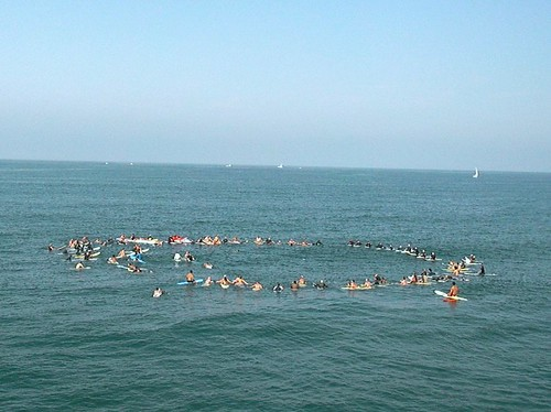 paddle out