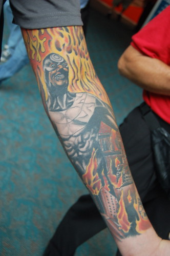 Comic Con 09: Bullseye Tattoo