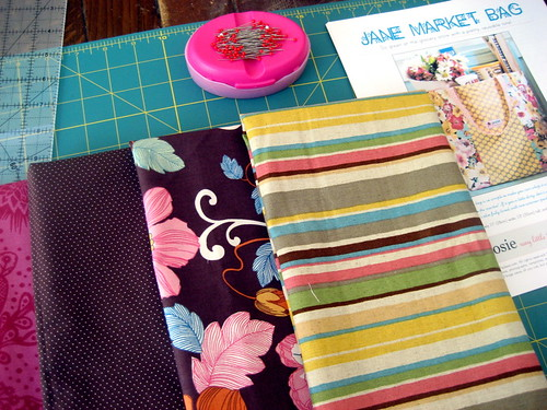 fabrics for jane market bag