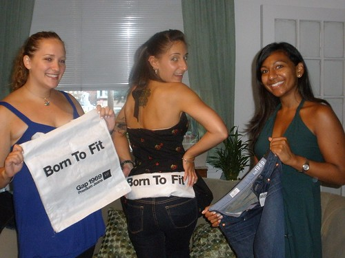 My models, Arielle, Allison and Anna