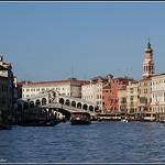 Venise : Grand Canal - Pont du Rialto