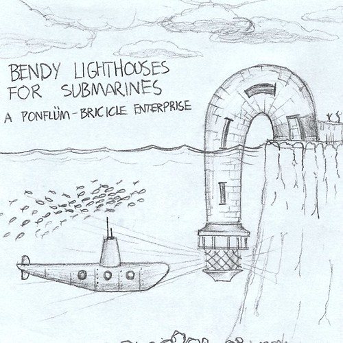 Bendy Lighthouse for Submarines