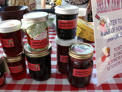 More Jelly & Jam Contest Entries at the North Market 8/15/09