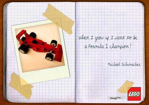 Lego Michael Schumacher