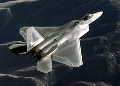 [フリー画像] [航空機/飛行機] [軍用機] [戦闘機] [F-22 ラプター] [F-22 Raptor]      [フリー素材]