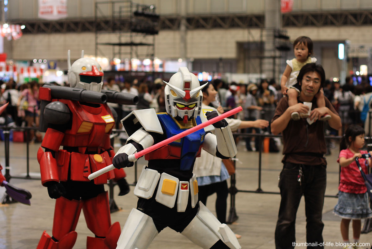 Gundam Cosplayers