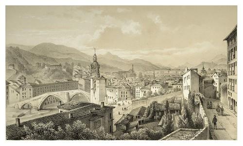 014- Bilbao vista tomada desde el camino de Bermeo 1850- Copyright 2009 álbum SIGLO XIX. Diputación Foral de Gipuzkoa