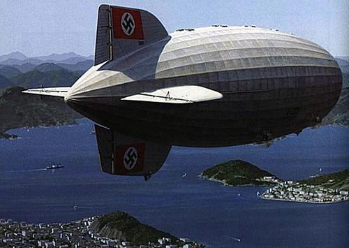 Graf Zeppelin over Rio de Janeiro