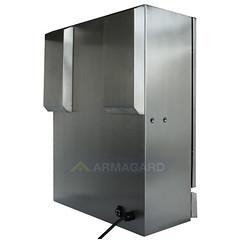 Armagard SENC 300, back (Armagard UK) Tags: compact waterproof enclosure ip65