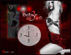 "Britney Spears // ""3"" (3lackoutman) Tags: 2003 new 3 david sexy video shoot spears circus pop best collection single bitch blonde britney avant gq grafix blend guetta womanizer blackoutman bloodshy"