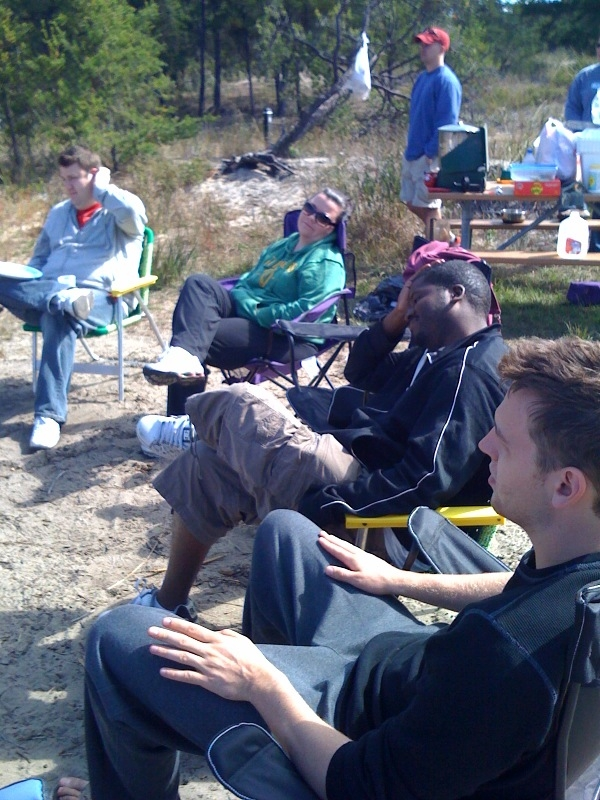 Quicken Loans goes camping: the '09 edition