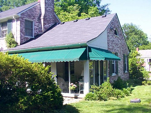 Pipe Frame Window Awnings