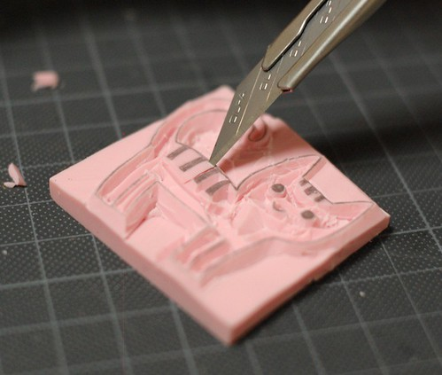 How to carve a stamp 14