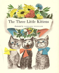 The Three Little Kittens (hunkamunka) Tags: kittens leonardweisgard nurseryrhymes mothergoose retrokid vintagechildrensbooks threelittlekittens retrochildrensillustrations