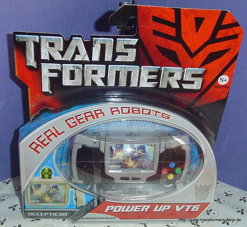 Up VT6 Movie-2007  Real-Gear-Robots Transformers 001
