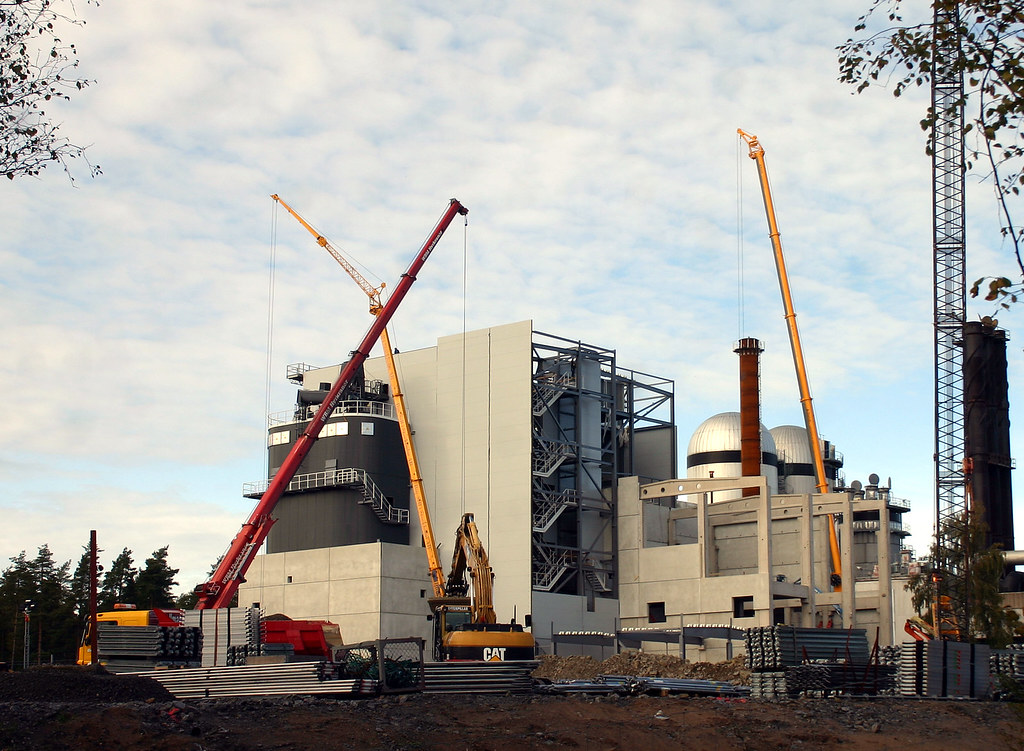 The new biofuel power plant