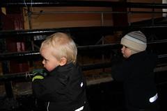 Ett annat barn som lät som ett får var nästan mer spännande
