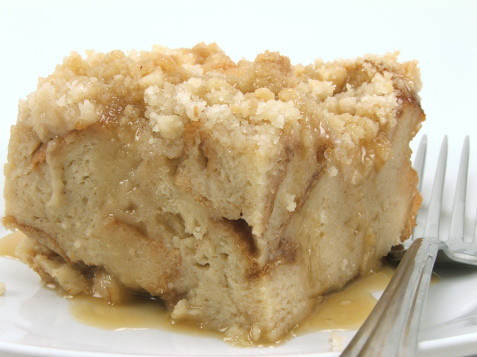 Butterscotch Bread Pudding with Rum Sauce