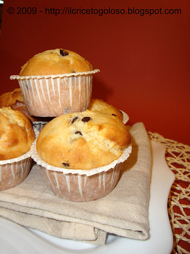 Chocolate chips muffins 3