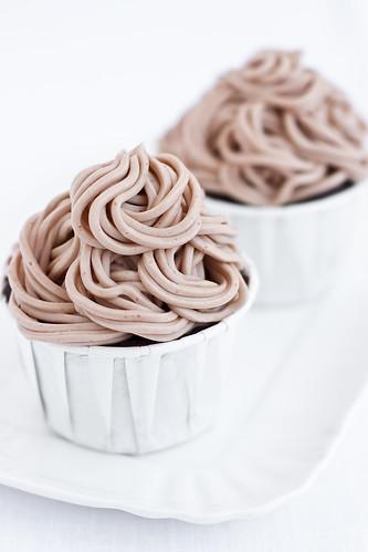 Mont Blanc cupcakes
