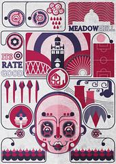 Sheffield Part 1 (Grunge) (Jonny_Wan) Tags: city illustration steel maps sheffield jonny wan vector meadowhall