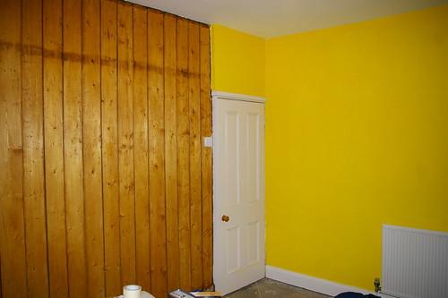 Living room: walls