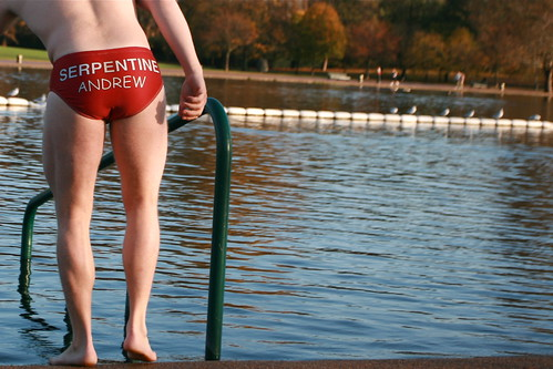 Serpentine swimming