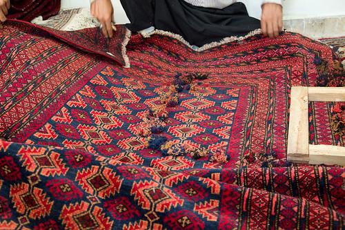 Carpet repair-shop