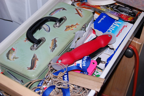 The Junk Drawer: Before