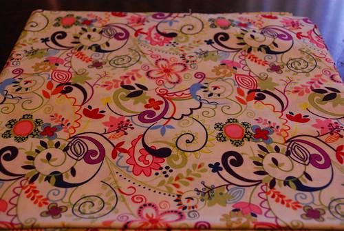 pretty floral fabric