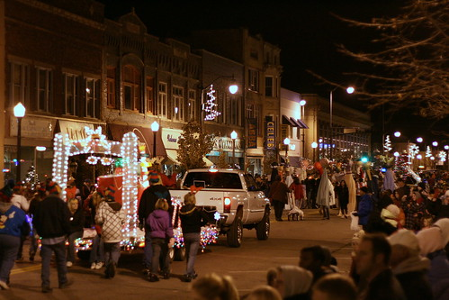 Lighted Holiday Parade on East Grand Avenue