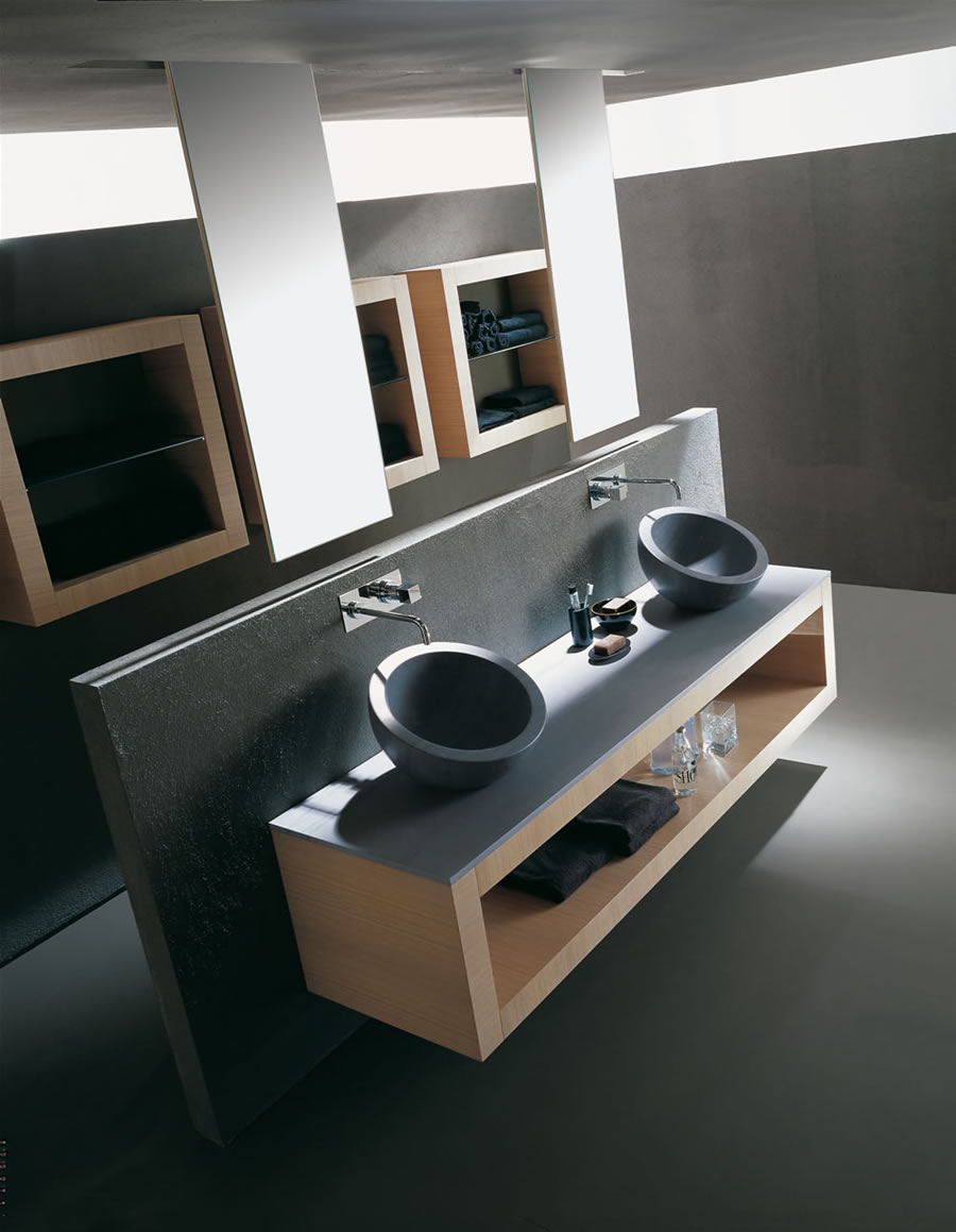 Xil Bathroom Furniture from Karol with Uncommon Design