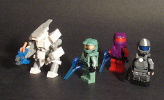 My Halo Figs So Far... (mike 3579) Tags: lego halo masterchief odst