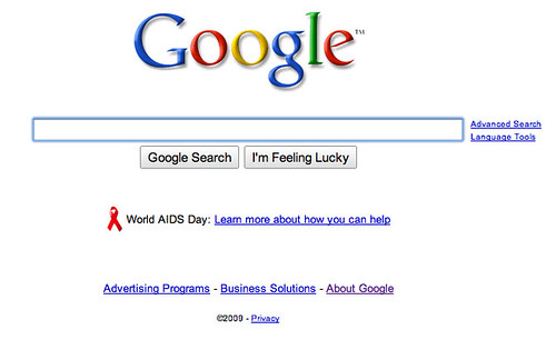 Google World AIDS Day