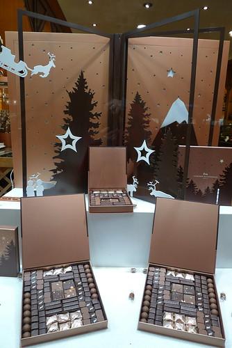 Vitrine La Maison du Chocolat - Paris decembre 2009