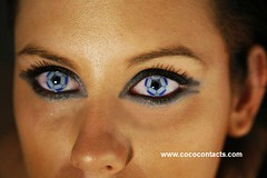 Soccer Eyes (Cococontacts.com) Tags: party lens crazy pretty vampire gothic emo parties freaky contacts rave wacky sharingan contactlens itachi cococontacts cococontactscom
