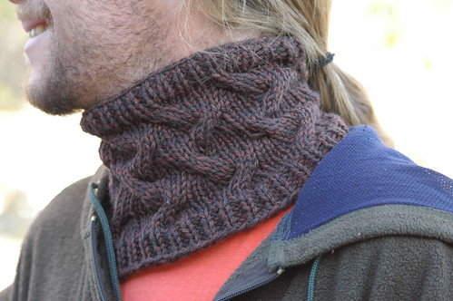 Mens Star Crossed Cowl - Free Pattern