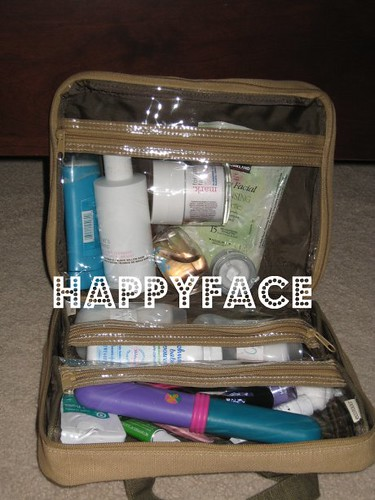 ecoTools by Alicia Silverstone overnight bag (filled)