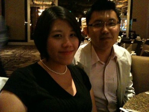 Hubba and me at Lye Keat and Mei Li's wedding in SG