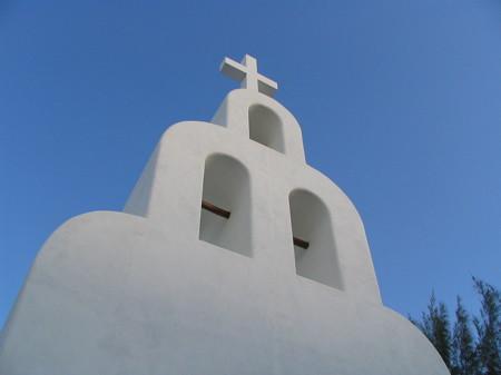Church in Playa Del Carmen on 5th Avenue