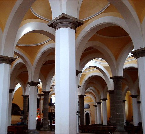 Capilla Real de Cholula. Interior.