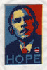 Obama Hope Cross Stitch