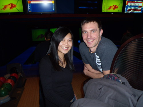 Dave & Busters Bowling Night