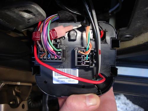 headlight switch connector - Chevy TrailBlazer ...